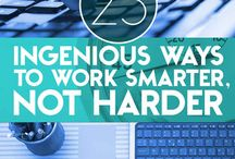 Work Smart Not Hard.