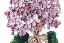 Broches florales
