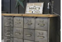 Repurposed File Cabinets