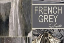 French grey and curtain fabrics