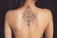 back tattoo ❤