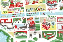 Maps ilustrations