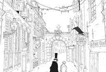 Joytown / A comic by Edouard Relou