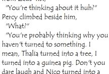 Person Or Jacy? / Percy & Jason Moments... ( I think that explains it )