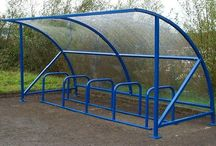 Bike Parking Shelters / Velodome Shelters provide Bicycle Parking Systems commercial bike racks, Bike racks, bicycle storage