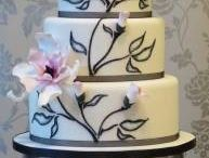 wedding cakes - what inspires me / great inspiration and ideas for your wedding cake / by Kelly O'Brien