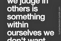 Words of JUDGEMENT