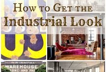 Industrial style / Industrial style home decor