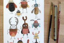 Hmyz, příšerky