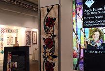 Sırça Fanus İçinde ''Bir Parça Sanat'' Kırkpare Sergisi / LÖSEV Başkanı Dr.Üstün Ezer açılışı ile gerçekleşen ''Sırça Fanusta Bir Parça Sanat'' Next Art'ta 28 Ocak Perşembe gününe kadar sanatseverlerle buluşmaya devam ediyor!