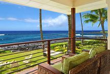 "Porches in Paradise / Looking for a Kauai vacation rental with a great porch (""lanai"" in Hawaii)?  Check out some of our favorites."