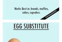 Substitute for eggs