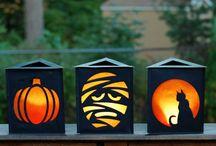 halloweeni kontúrok