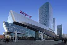 shopping mall facade