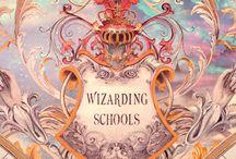 Escolas de Magia e Bruxaria / Castelo Bruxo