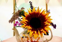 Centrepieces / rustic centrepiece ideas for weddings and events