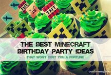 mine craft Birthday Party ideas