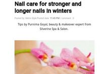 Tips by Purnima Goyal Beauty Expert Silverine Spa & Salon Carried in Metrostyleindia.com