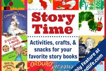 Preschool Story Time Ideas / All about Preschoolers! Read aloud children's books, activity ideas, and read and plays for the 3-5 crowd. The very best Story Time ideas for parents, teachers, and librarians.