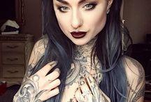 piercings tattoos etc