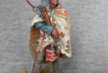 Indianie figurki