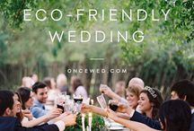 Eco event planning / How to plan an ecological wedding or other event.