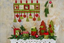 Christmas 2013 collection designed by Stoffabrics / Ask for Stoffabrics at your local quilt shops and fabric retailers.