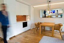 Wnętrze małego mieszkania / Zdjęcia wnętrz zgrabnego mieszkania według mojego projektu