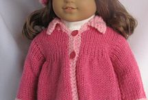 American girl knitted clothes pattern