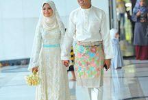gaun wedding