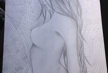 my art / by alexa hernandez