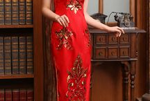 Pretty red dresses