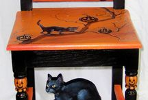 ( Samhain ) Halloween Decor / by Doris Hall