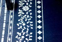 Printede flors