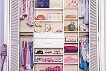 Organizace prostoru šatník