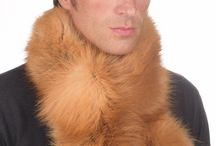 Men's Fox Fur Scarves / The best selection of real men's fox fur scarves.    www.amifur.co.uk
