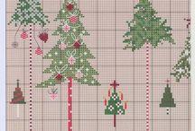 bordado de Natal