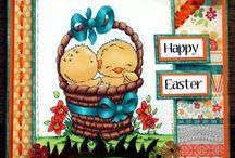 Easter handmade cards / Cute Easter handmade cards