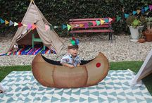 Teepees & Indians party