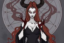 succubus and redhead