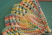 dishcloths - knit