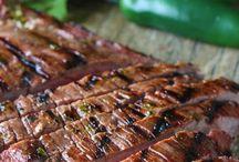Marinated meats