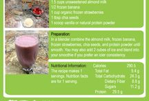 Shakes & Smoothies / Check out our shakes and smoothies http://2momsinthekitchen.wordpress.com/