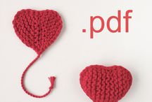 My patterns / Knitting and crochet patterns are available in my Etsy shop Lomaki