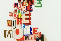 Typo / Typographie, font, typo main...