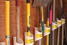 Garage/shop storage / Storage and organization ideas for Jeff and John! / by Colleen Koenig