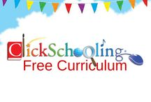 Free Curriculum from ClickSchooling / Don't spend hours scouring the internet for free curriculum for your homeschool. Instead, check out this extensive database of free curriculum and resources that engage and enlighten your children!