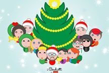 Natale grafica design avatar - Graphic Resources Christmas / Grafica, illustrazioni, icone, disegni, avatar, da utilizzare per Natale. #natale #illustrazioni #grafica #design #webdesign #avatar #icon #disegni #risorse #resources #free #xmas #christmas