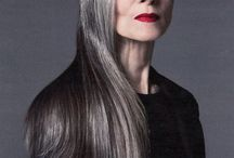 The Grey Haired Crone I want to grow to be.........