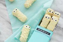 Halloween Biscotti Mummia